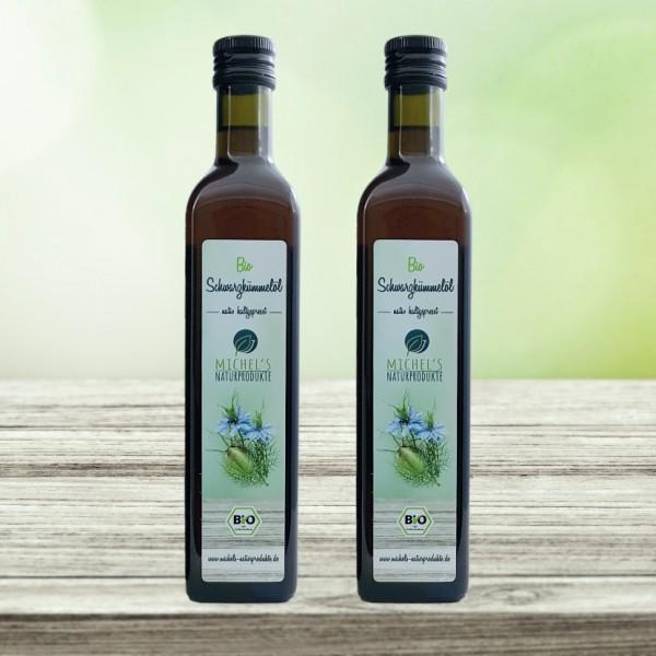 Bio Schwarzkümmelöl 1000 ml (2x500ml)