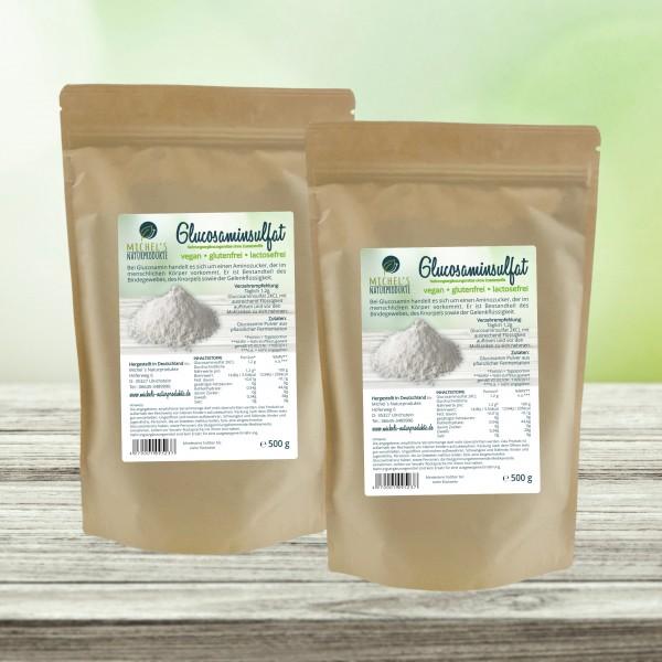 Glucosaminsulfat 1kg (2x0,5kg), vegan