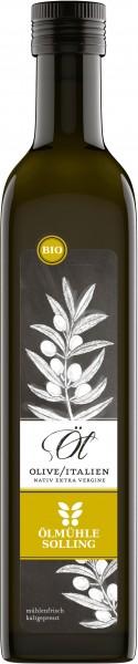Bio Olivenöl aus Italien, 500ml, extra vergine